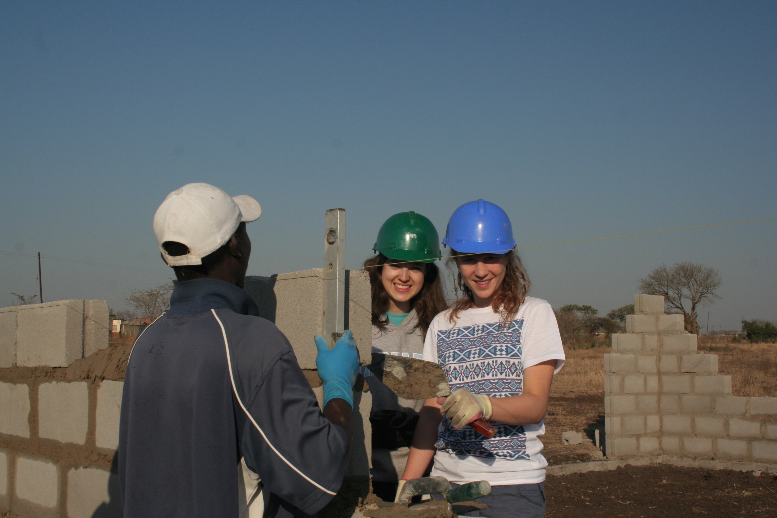 Project work in Africa
