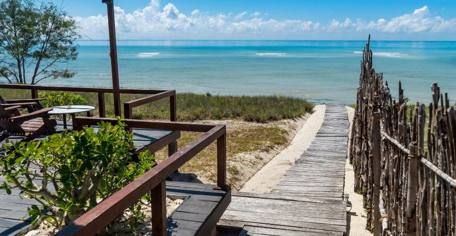remote Mozambique beaches