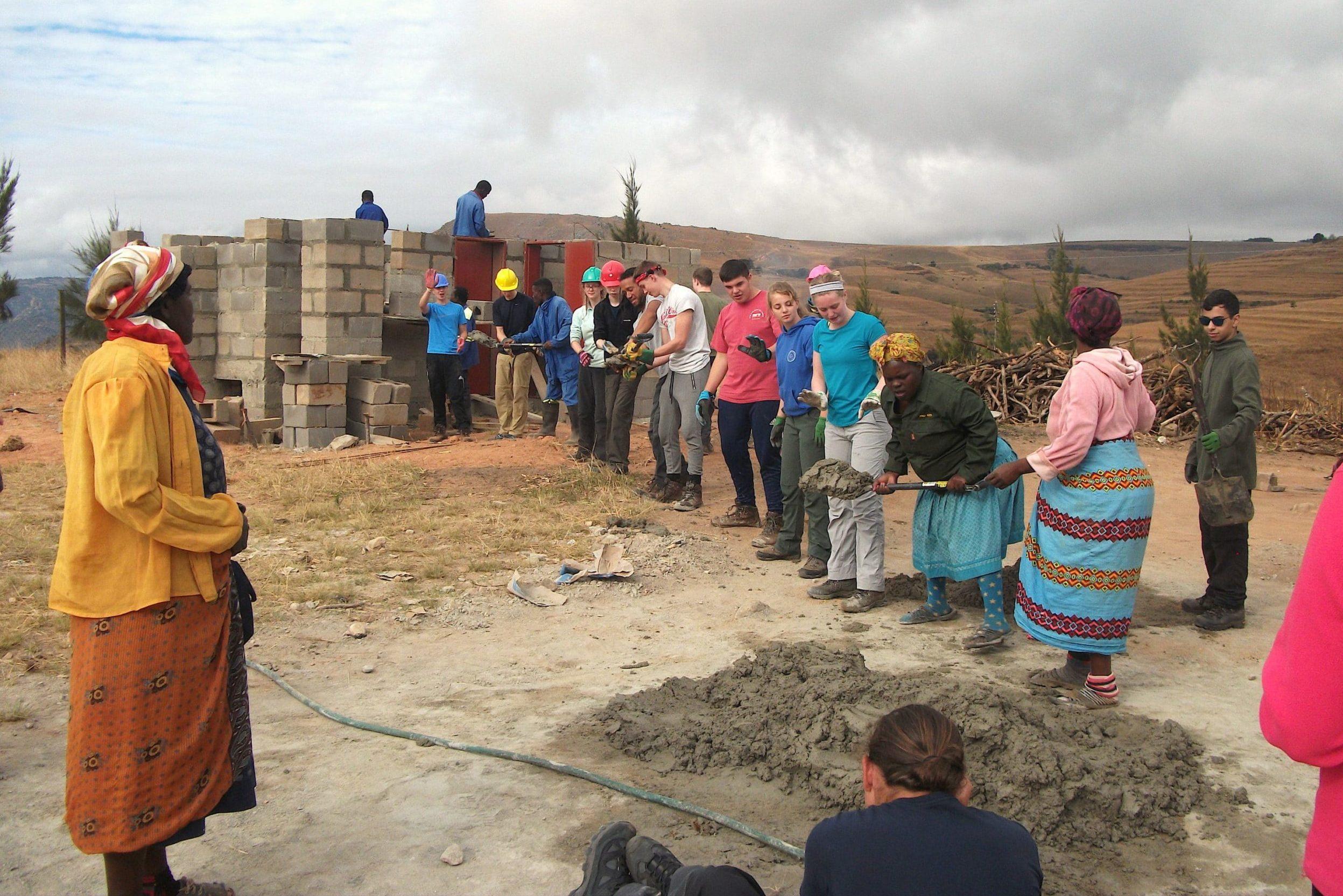 Mbita kitchen building project