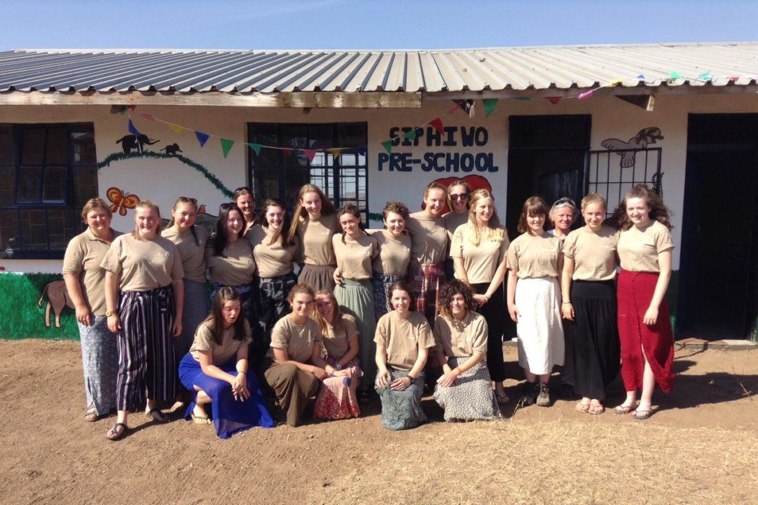Mhlumeni primary school opening