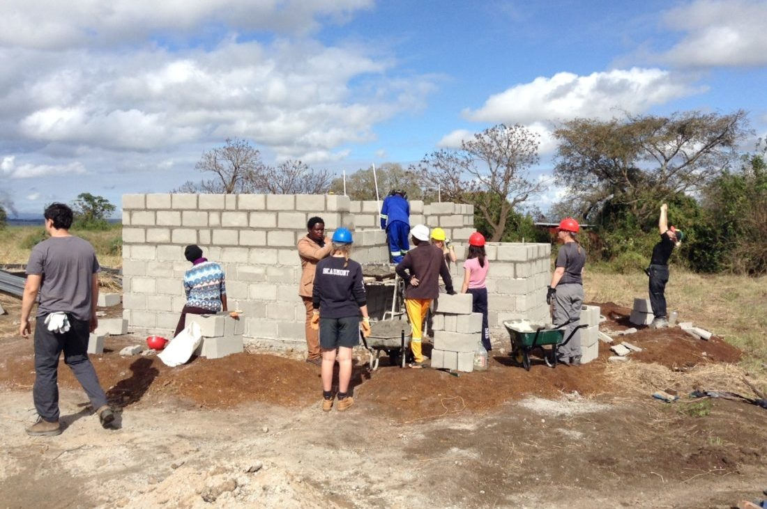 Building project in Africa