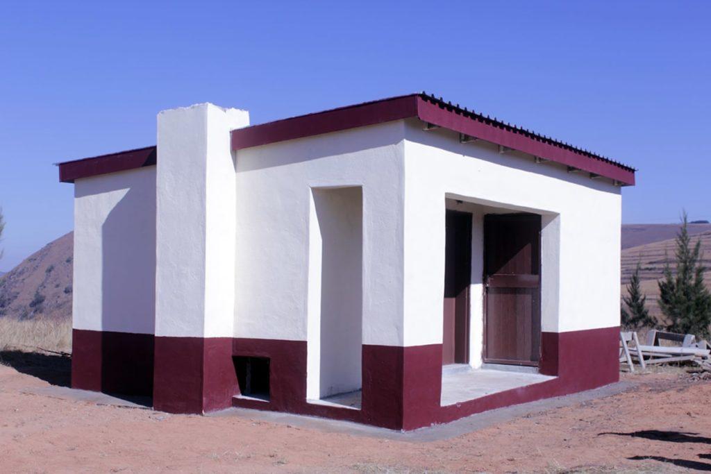 The newly opened Mbita kitchen