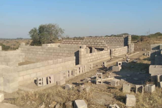 Mhlumeni classrooms